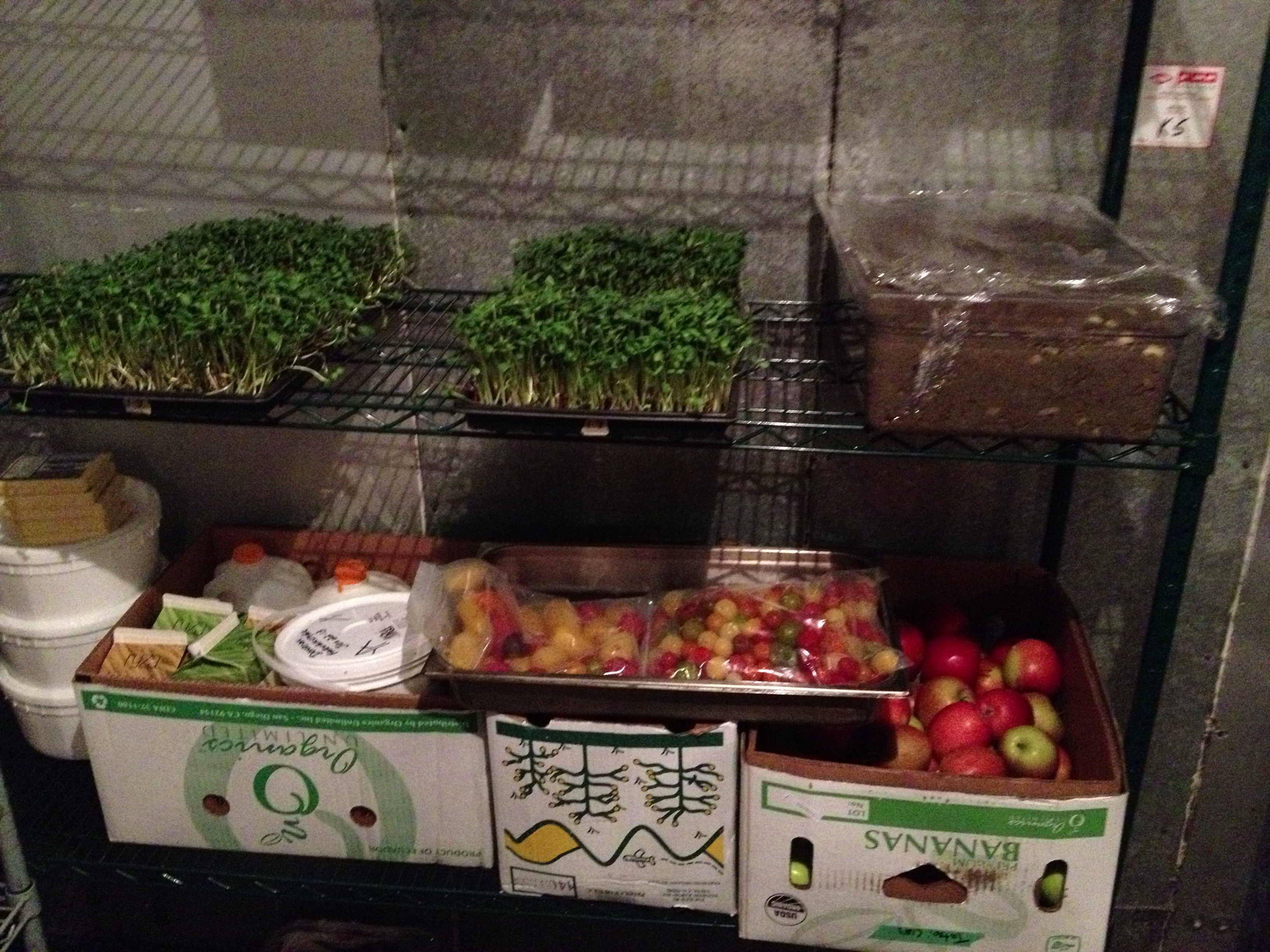 Micro-greens from Green City Acres, yogurt and cheese from Jerseyland Organics, apples from Urban Harvest, milk from Choices Markets.  These were just a few of our amazing food sponsors!