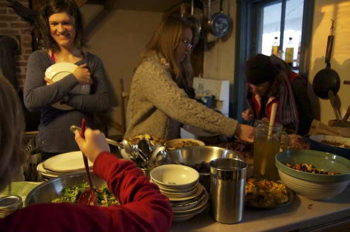 NFU Youth potluck at Waldegrave Farm, NS