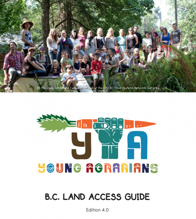 Young Agrarians BC Land Access Guide 4.0