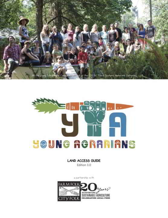 Young Agrarians Land Access Guide 3.0