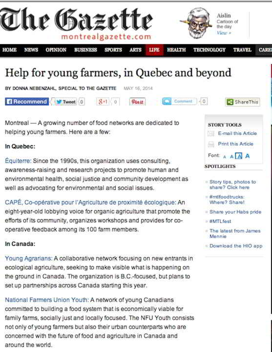 Gazette - help for new farmers-1