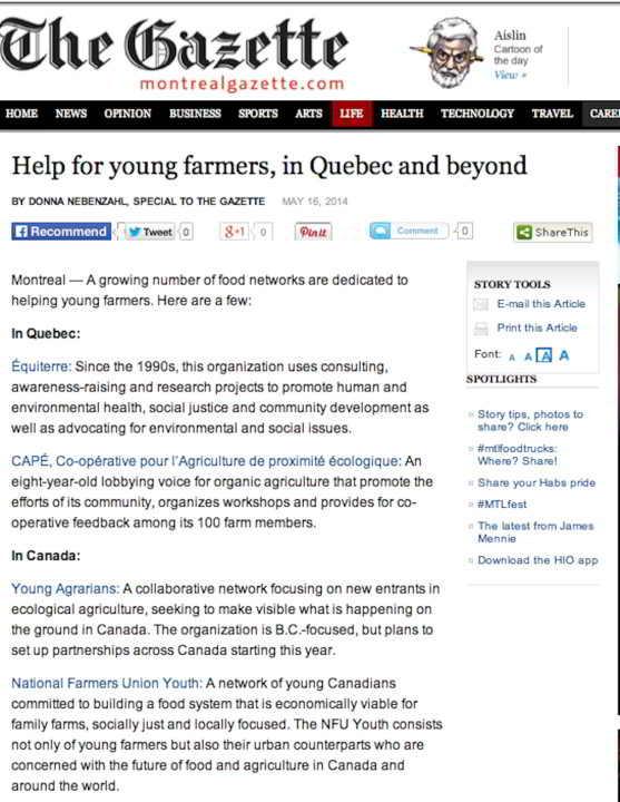 Gazette - help for new farmers-1