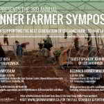 August 18th – REGISTER NOW for ACORN'S 3rd Beginner Farmer Symposium + Mixer