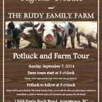 September 7: Pilgrim's Produce & The Rudy Family Farm Tour & Potluck, Armstrong, BC
