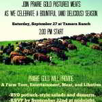 Sept 27: Red Deer Alberta – Tamara Ranch Field Day!