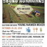 Eastern Ontario – Young Farmer Mixer!