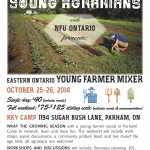Eastern Ontario – Young Farmer Mixer!