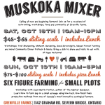 Muskoka, Ontario: Let's Mix It Up!