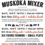Muskoka, Ontario: Let's Mix It Up!