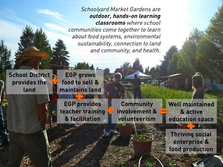 Schoolyard Market Garden Flow
