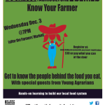 Dec 3: Know Your Farmer Urban Agriculture Workshop Series – Calgary, AB