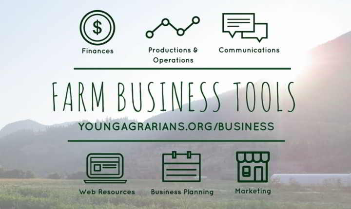 Farm Business Tools for New Farmers in Agroecology