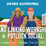Feb 22: Land Linking Workshop & Potuck Social – Langley, BC