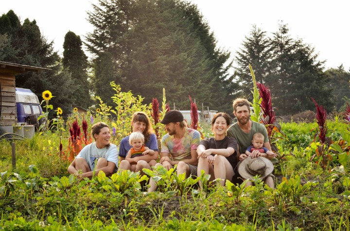 Golden Ears Farm Chase BC Young Agrarians Potluck & Farm Tour