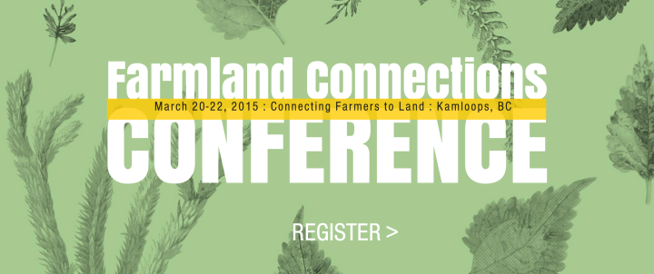 Farmland Connections Conf - Kamloops