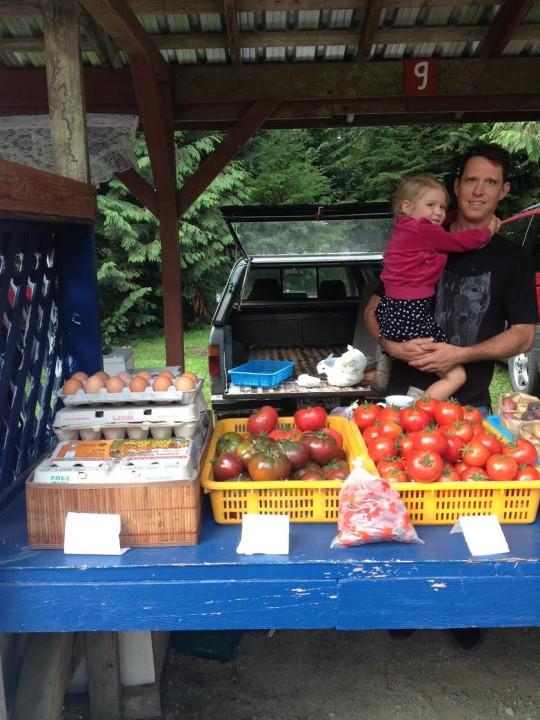Funky Beets Farm Market Stall