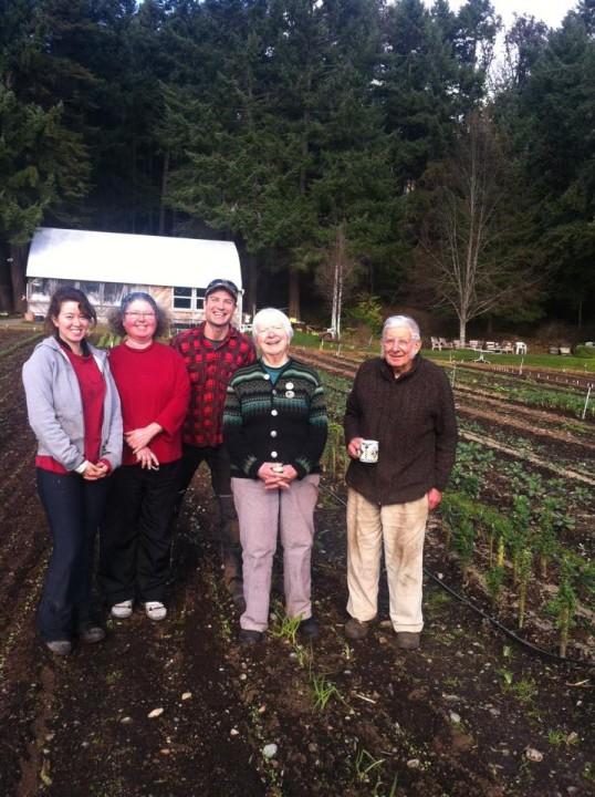 Crew Nanoose Edibles Organic Farm