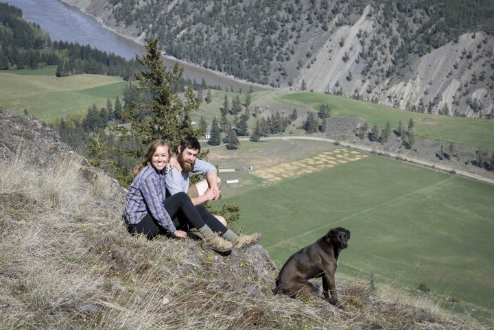 Photographing the daily activities and farming lifestyle on Spray Creek Ranch located on Texas Creek Road, Lillooet
