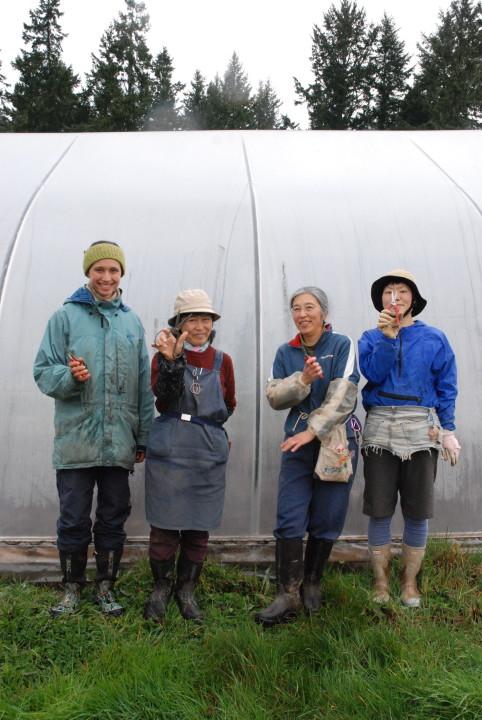 Umi Nami Farm Crew Young Agrarian Potluck & Tour