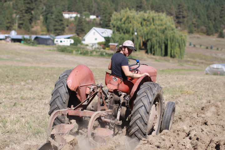 Deerfoot Farm- Tractor & Horse Ploughing Plowing Workshop Potluck and Farm Tour