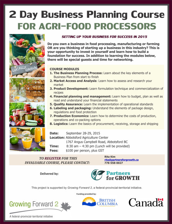 AgriFood Business Planning Workshop Young Agrarians