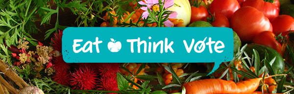 Food Secure Canada Young Agrarians Eat Think Vote Banner