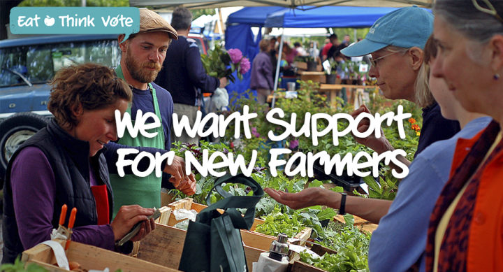 Food Secure Canada Young Agrarians Eat Think Vote Farmers