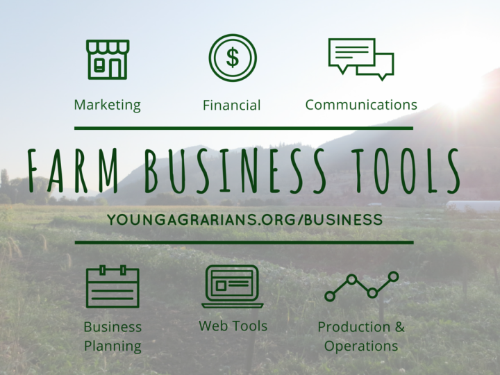 YA Farm Business Tools Image