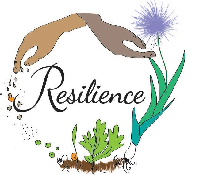 The cycle of resilience logo for canadian organic association of british columbia