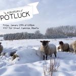 January 29: Agrarian Potluck, Camrose, AB