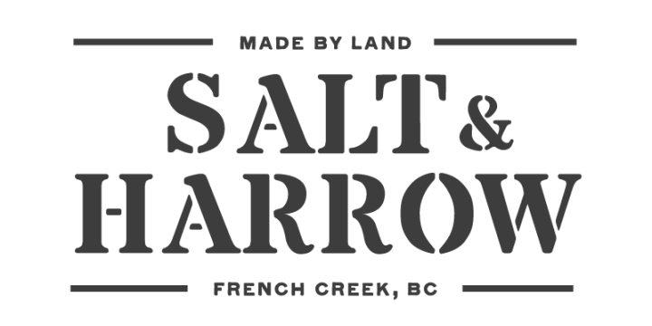 Salt & Harrow organic Farm debuts new logo and operations on Vancouver Island BC