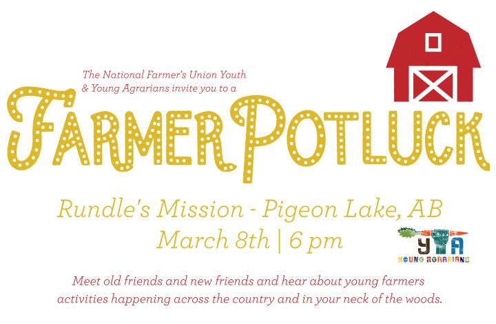 Farmer Potluck at Pigeon Lake