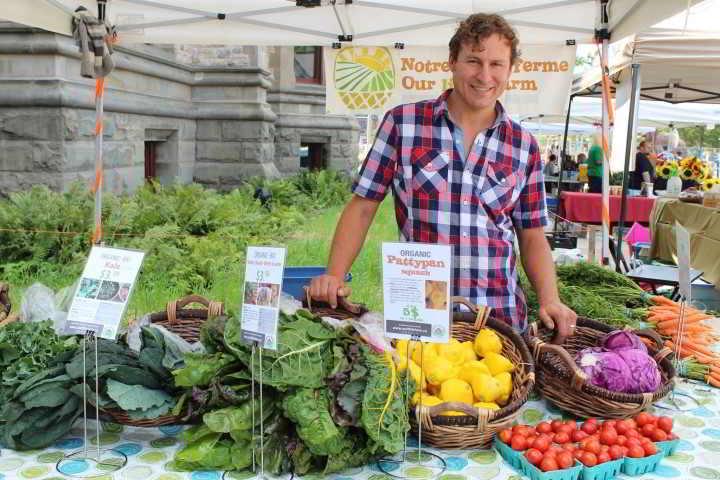 Our little farm market