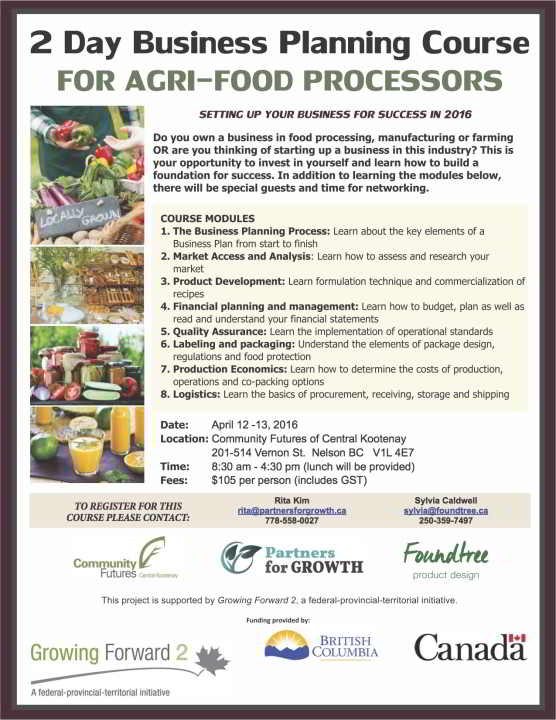 Agri Business Planning Workshop, Nelson