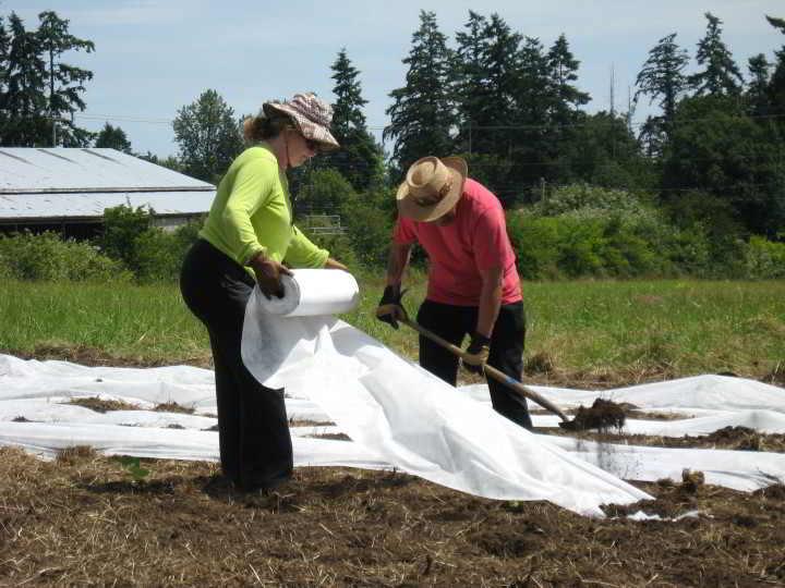 Farm Event with Farm Land Trust