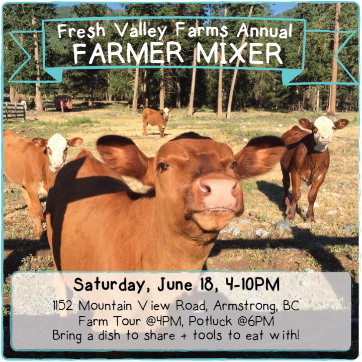 Farm Event Fresh Valley Farm Mixer
