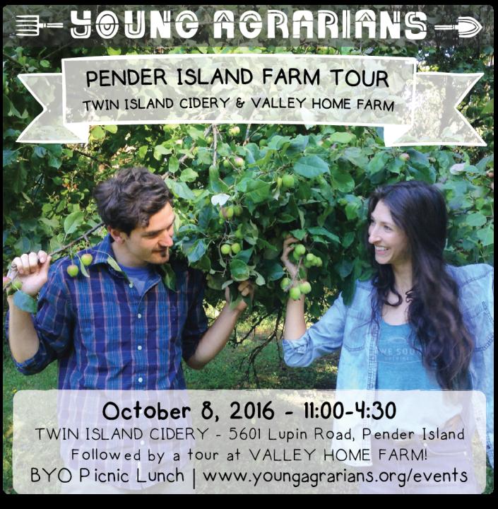 Pender Island Farm Tour