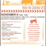 November 8: VERNON, BC – Growing Your Farm Business Workshop