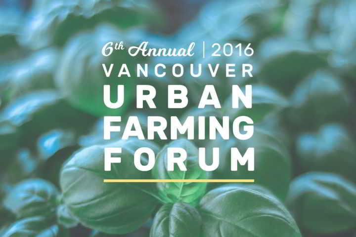 Vancouver Urban Farming Forum