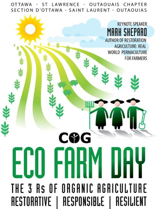 COGS presents Eco Farm Day with Mark Shepard