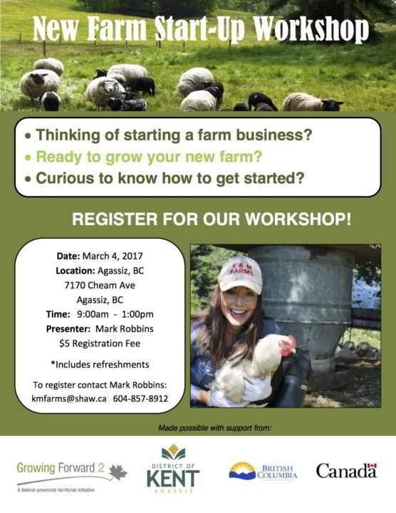 Agassiz farm workshop
