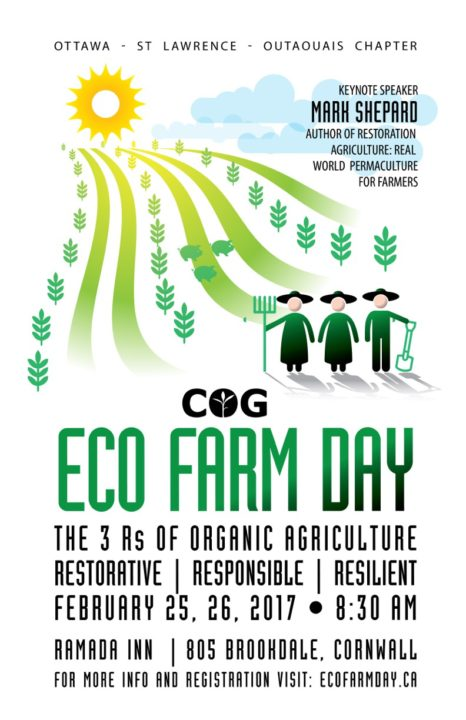 Eco Farm Day Poster