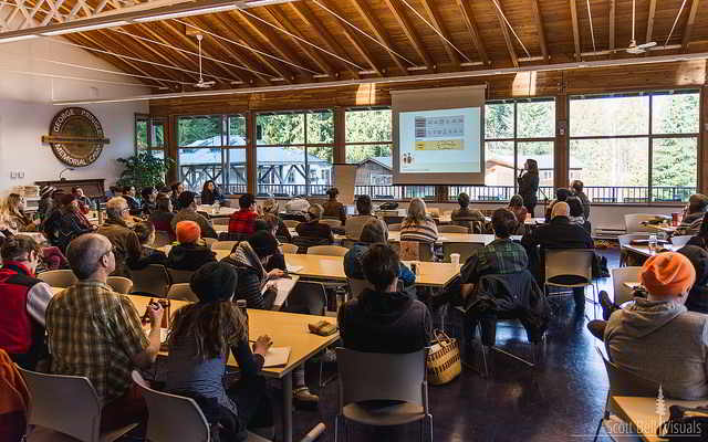 Holistic Management workshop at the Vancouver Island Winter Mixer