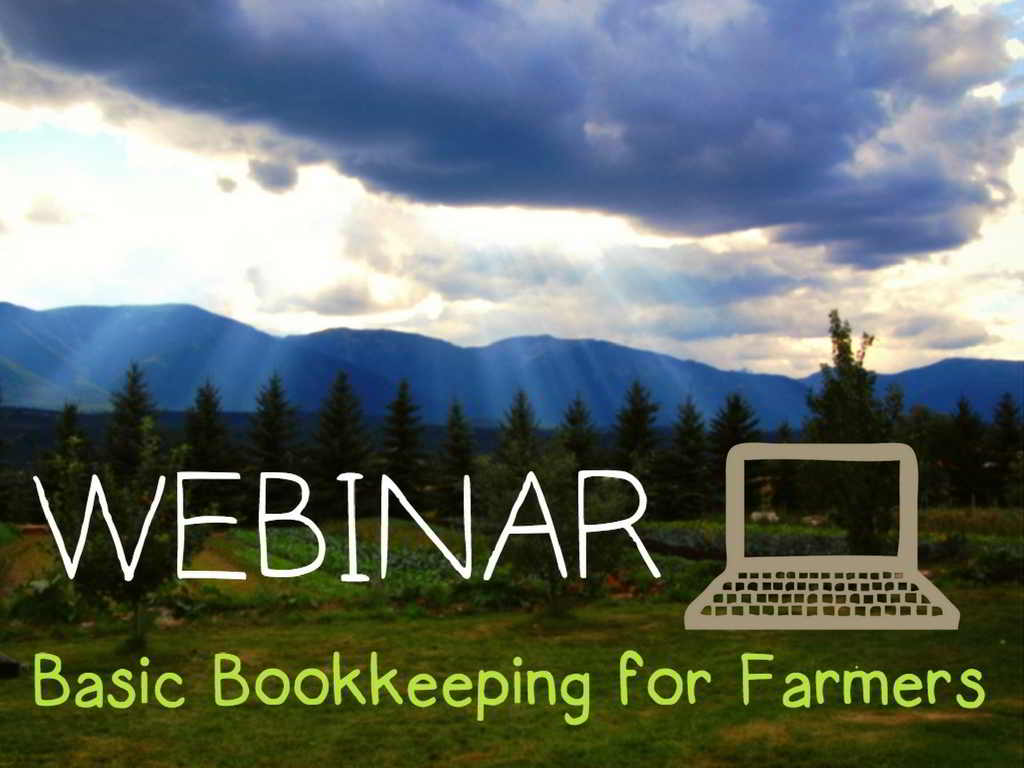 Farm Bookkeeping Webinar