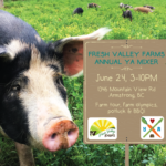 JUNE 24: ARMSTRONG, BC – Fresh Valley Farms Annual YA Mixer!