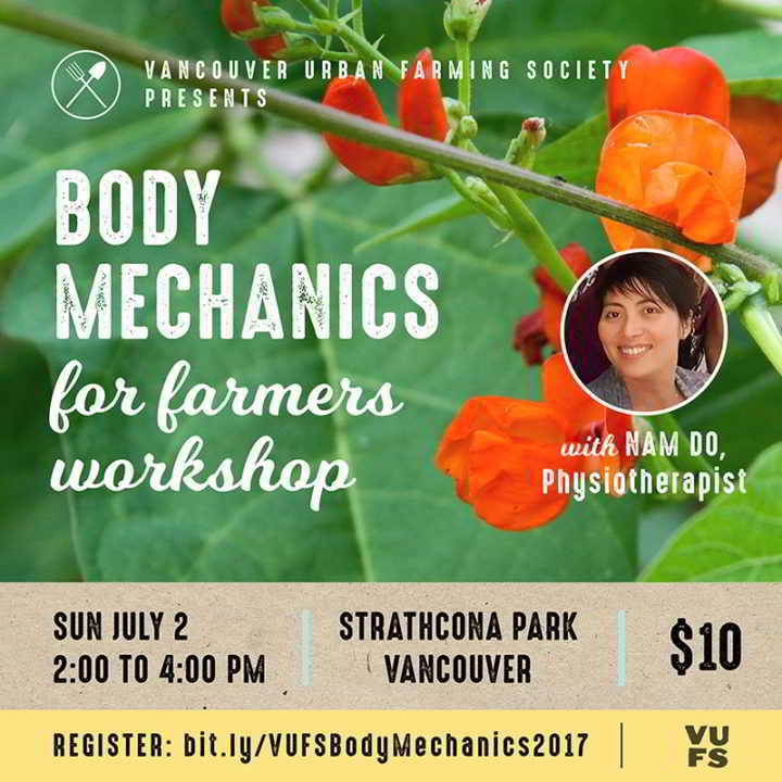Body Mechanics for Farmers
