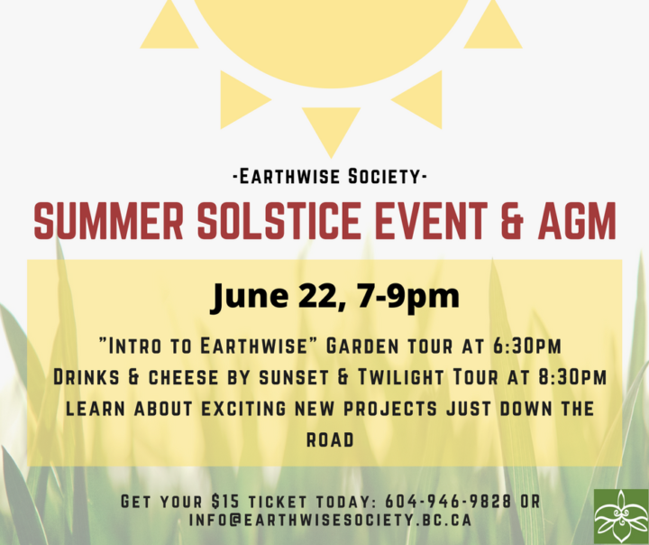 Earthwise Society Summer Solstice