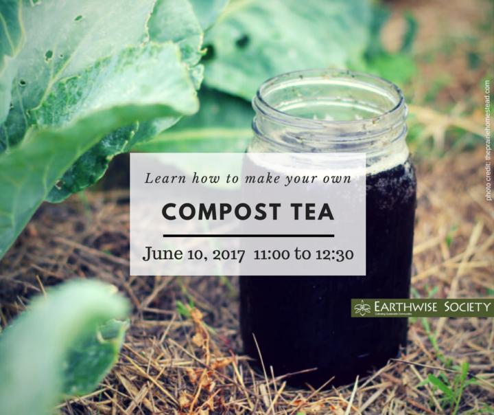 Earthwise Society compost tea