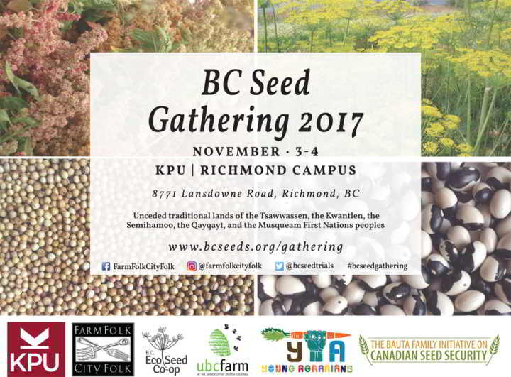 BC Seed Gathering