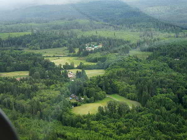 Glenora Farm - aerial shot
